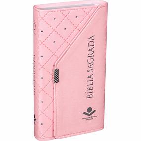 Bíblia Feminina Tipo Carteira - Rosa