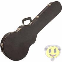 Case Guitarra Les Paul Rigido Luxo Interior Pelucia Kadu Som