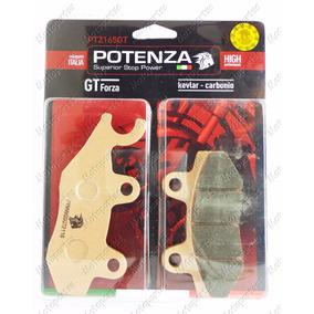 Pastilha Dianteira Potenza Metalica Fazer 250 Twister Ninja