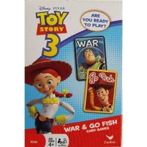 Disney Pixar Toy Story 3 La Guerra Y La Tarjeta Go Fish Gam