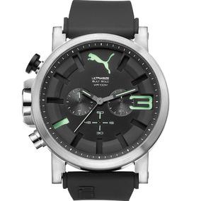 Puma Ultrasize Bold Cronógrafo Negro 50mm Relojes Diego Vez
