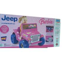 Carro De Batería: Jeep Barbie Y Hot Wheels