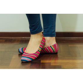 Zapatos Balerinas Incaicas, Hermosas, Confort, Anatomicas