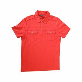 Camisa Manga Curta G By Guess - Havana Red - Importada