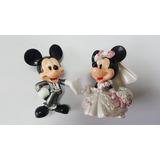 Mickey E Minnie Casal Topo De Bolo, Lindos!