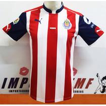 Jersey Puma Chivas Casa 16/17 S/n° Version Jugador Envio Gra