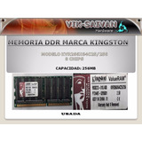 Memoria Ddr Kingston 256mb Pc-2100 266mhz 8 Chips 9