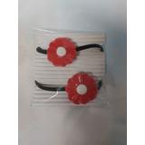 Colitas Para El Pelo En Porcelana Fría X 8 Unidades