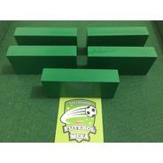 5 Goleiros De Plástico Verdes - Futebol De Mesa