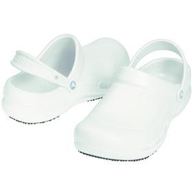 Zueco Crocs Bistro White Blanco M5w7 - 37