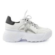 Zapatillas De Mujer De Cuero Grecia - Ferraro -
