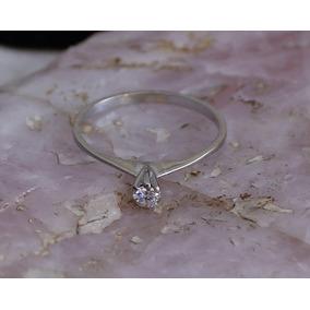 a9dd76a295909 Solitário De Ouro Branco Com Diamante De 70 Pontos - Joias e ...