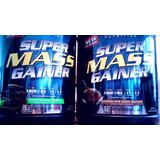 Paquete 2 Super Mass Gainer 6 Lbs