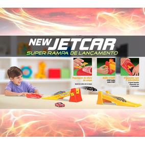 2 Carrinhos New Jetcar + Super Rampa De Lançamento