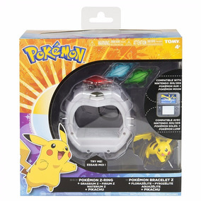Z-ring Tomy Bracelete Pokemon Moon Sun Ultra 3ds 2ds Relogio