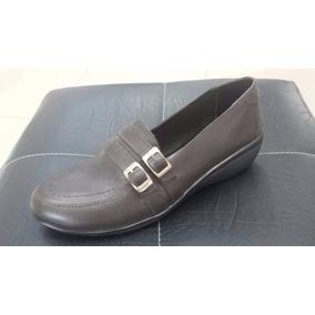 Zapato Mario Pellino De Dama Marrón Y Negro