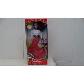 Boneca La Violetera Mesmo Tamanho Da Barbie Nova Lacrada