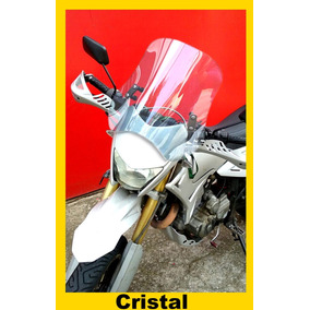 Bolha Universal Para Motos Em Policarbonato Cristal 4mm