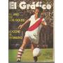 El Grafico / Nª 2688 / 1971 / Tapa Pignani De River Plate /
