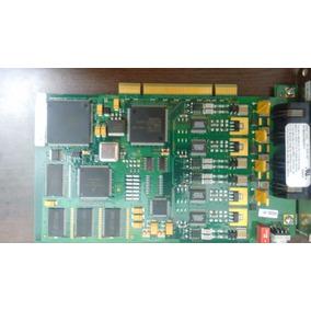Intel Dialogic D4pciufw 04-2933-001 4-port Voice Fax Media