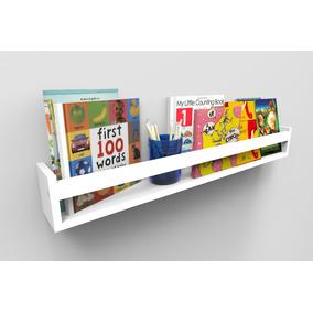 Prateleira Para Livros Infantil Quarto Montessoriano 90cm