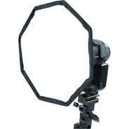 Difusor Softbox Octogonal P/ Flash 20cm Nikon Canon Yongnuo