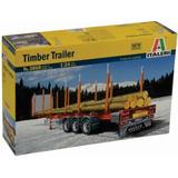 Italeri Remolque P/ Troncos Timber Trailer 1/24 Armar Pintar