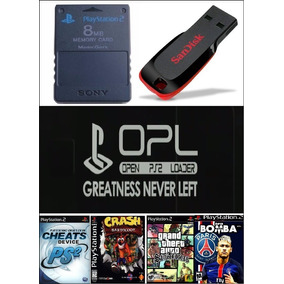 Kit Opl Memorycard + Pendrive Apps + Ps1 + Ps2 A Sua Escolha