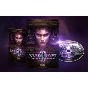 Juego Pc Starcraft Ii Heart Of The Swarm Box Caja
