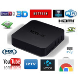 Android Box 6.0 4k Google Full Hd Smart Tv Internet 4k 3d