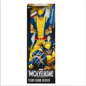 Brinquedo Marvel Boneco Wolverine 30cm
