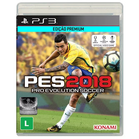 Pro Evolution Soccer 2018 - Pes 2018 Ps3