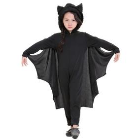 Para Halloween Ropa Traje Mono Niño Bat Cosplay Etapa Xl