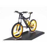 Miniatura Bicicleta Track Moutain Bike Mini Modelo Porsche