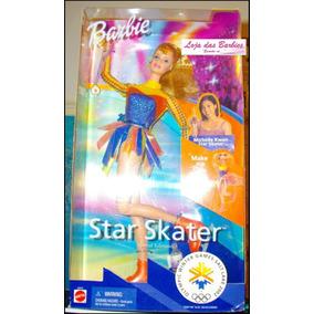 Barbie Star Skater * Patinadora * Boneca Nova E Lacrada