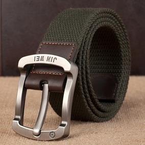 Cinturon Lienzo Tactico Militar Hombre Mujer