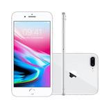 Iphone 8 Plus 5.5 Pol, Câmera 12mp Dupla + 7mp 64gb Prata