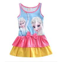 Traje De Baño Frozen Vestido Niña 3- 8 Años Envio Gratis