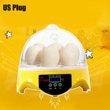 Hhd Automático Digital 7 Huevos Incubadora Para Pato Pájar