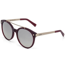 Óculos De Sol Feminino Colcci Bordô Dourado Fosco C0064c2743