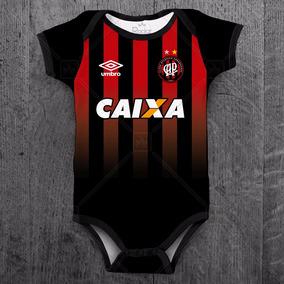 Body Atlético Paranaense Time Futebol Bebê Personalizado