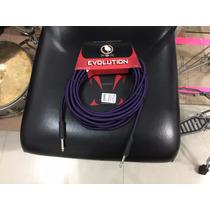 Cable Guitarra Evolution 10 Metros Plug Jack A Jack