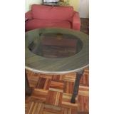 Mesa Comedor Living Con Vidrio
