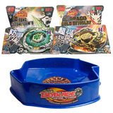Set De 2 Beyblade Y 1 Estadio De Duelo Beystadium