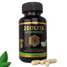 Zeolita Micronizada - 90 Cápsulas De 500 Mg