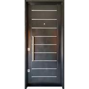 Puerta Doble Chapa 80x200 Doble Cerradura De Seguridad Atex