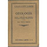 Geologia Tomo 2 X Fritz Frech