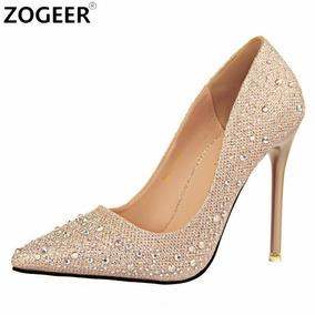 Sapato Importado Luxo Salto Agulha Frete Grátis Todo Brasil