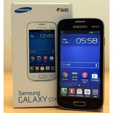 Celular Samsung Galaxy Star Plus Gt-s7262 Preto Novo