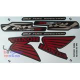 Kit Faixa Adesivo Cg Fan 150 Mix 2012 Esi Preta